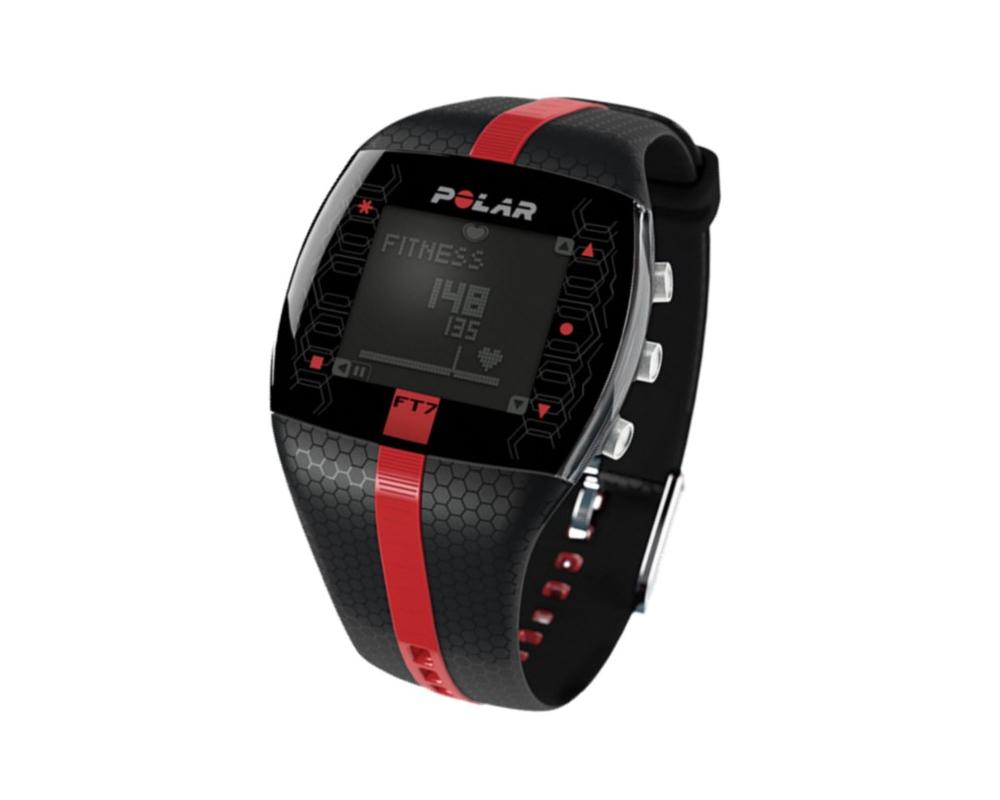 POLAR FT7 pánský černo-červená