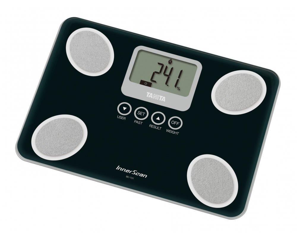 Osobní digitální váha bc-731 černág