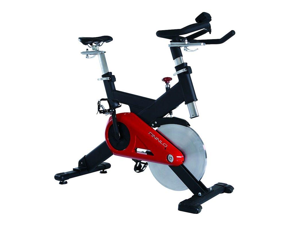 Červený cyklotrenažer Finnlo Speedbike CRT