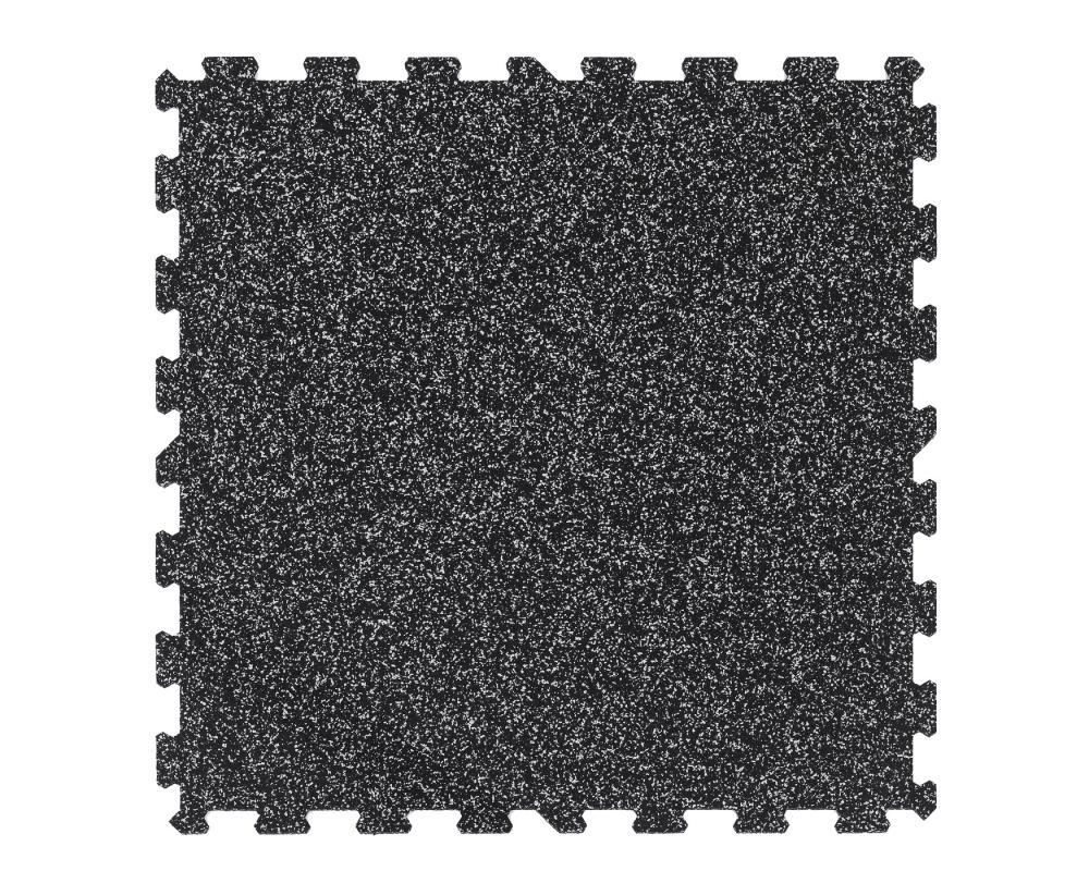 TRINFIT Sportovní gumová podlaha do fitness_puzzle_100_100_20%g