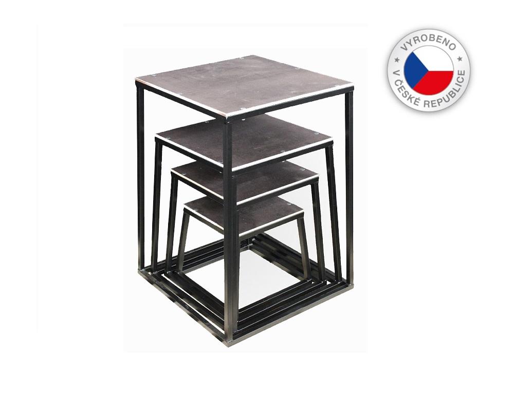 FITHAM Plyometrická bedna - STEEL PLYO BOX