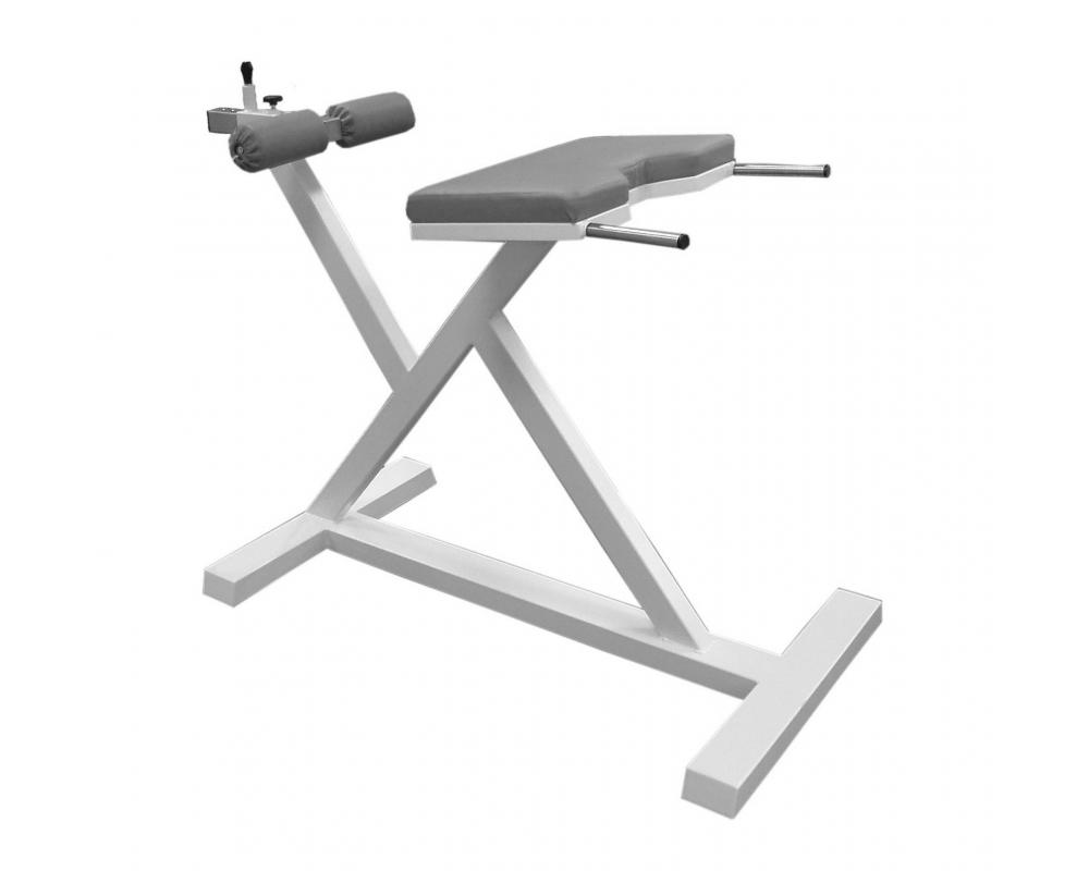Posilovací lavice na záda Hyperextenze šedá