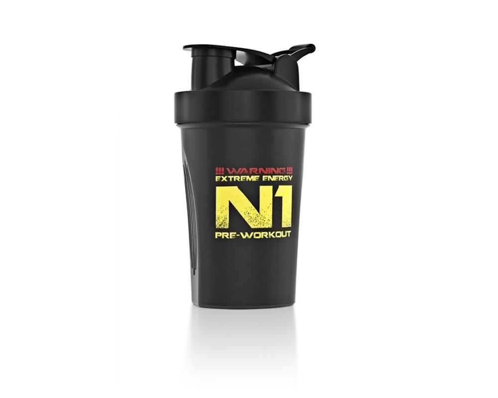 NUTREND Shaker 400 ml černý