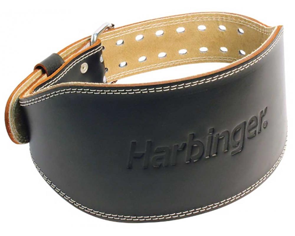 Fitness opasek kožený HARBINGER
