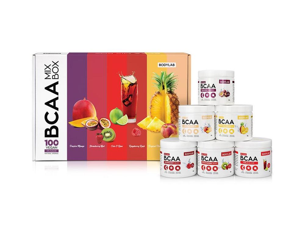 BODYLAB BCAA Box (6x50 g) + shaker