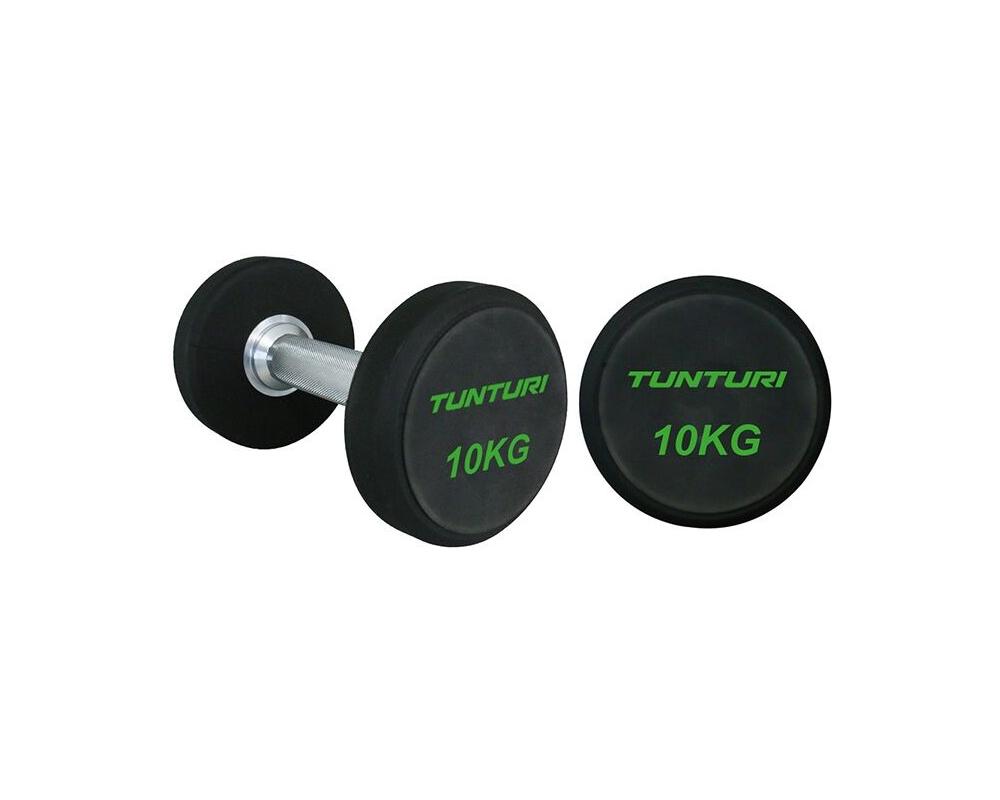 Sada jednoručních činek TUNTURI Pro 2-12 kg (10 párů)