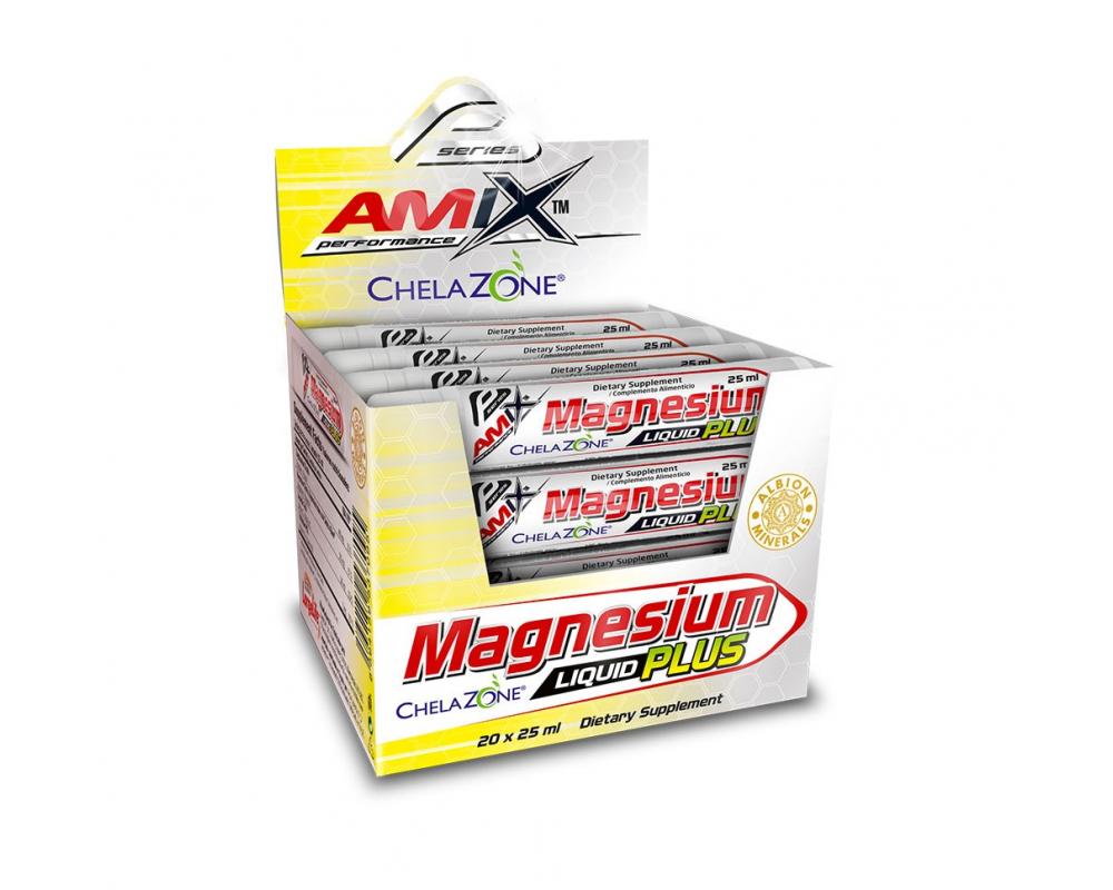 AMIX Magnesium LIQUID PLUS 25 ml balení