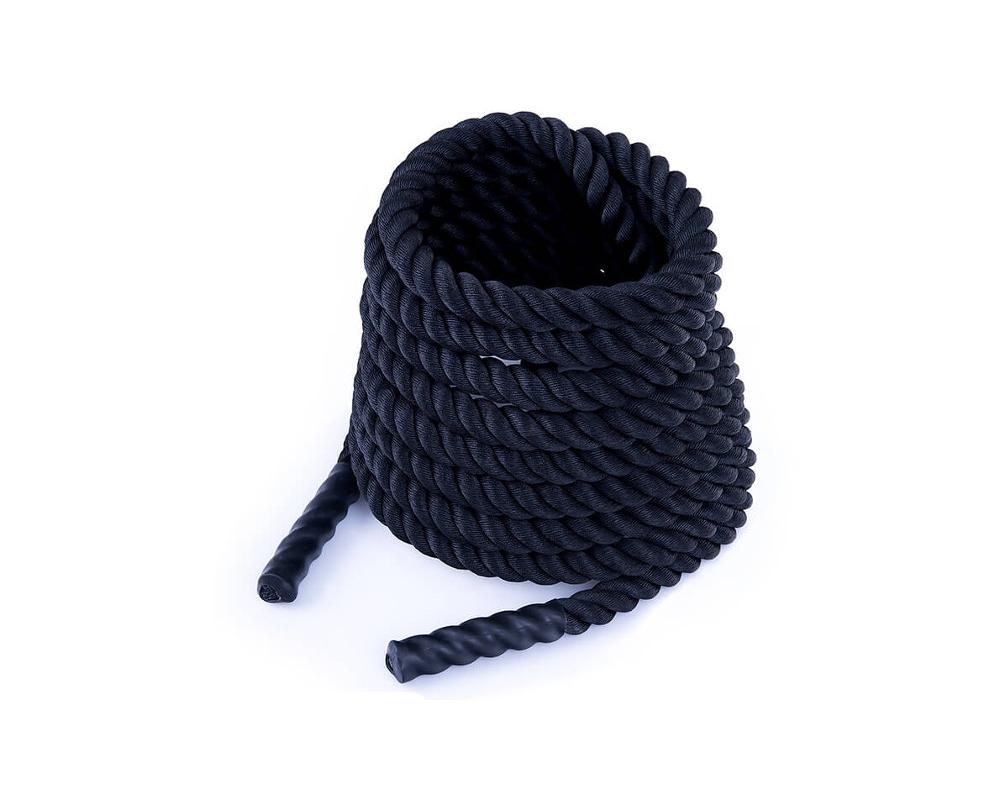 Posilovací lano Battle rope 9 m DBX BUSHIDO 1