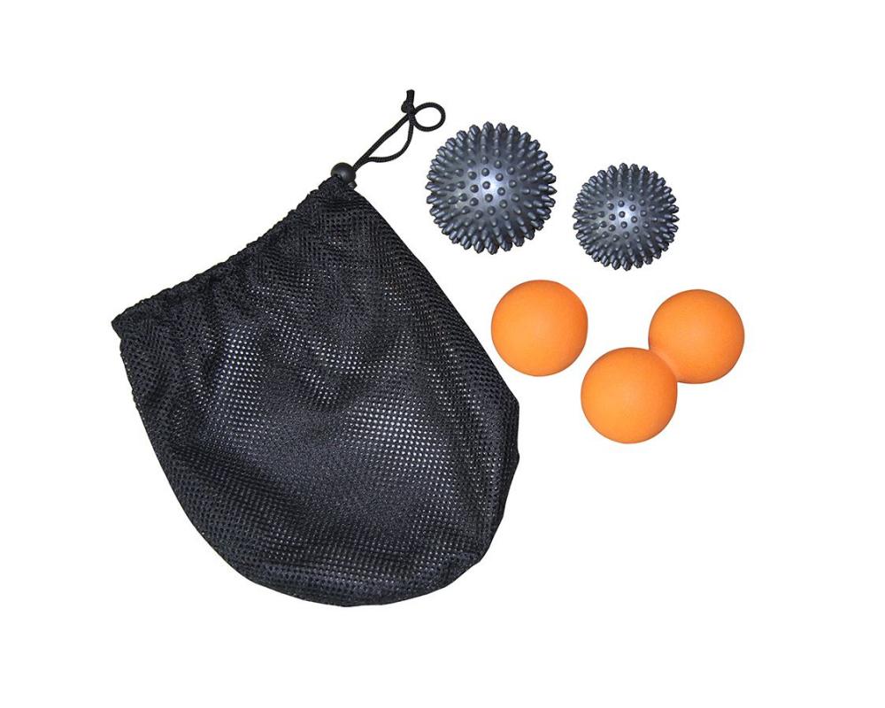 Masážní míčky - sada 4 ks TUNTURI