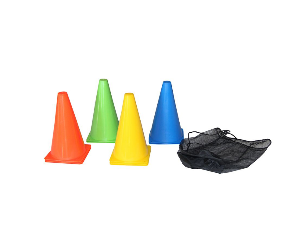 Plastové tréninkové kužely TUNTURI - 10 ks