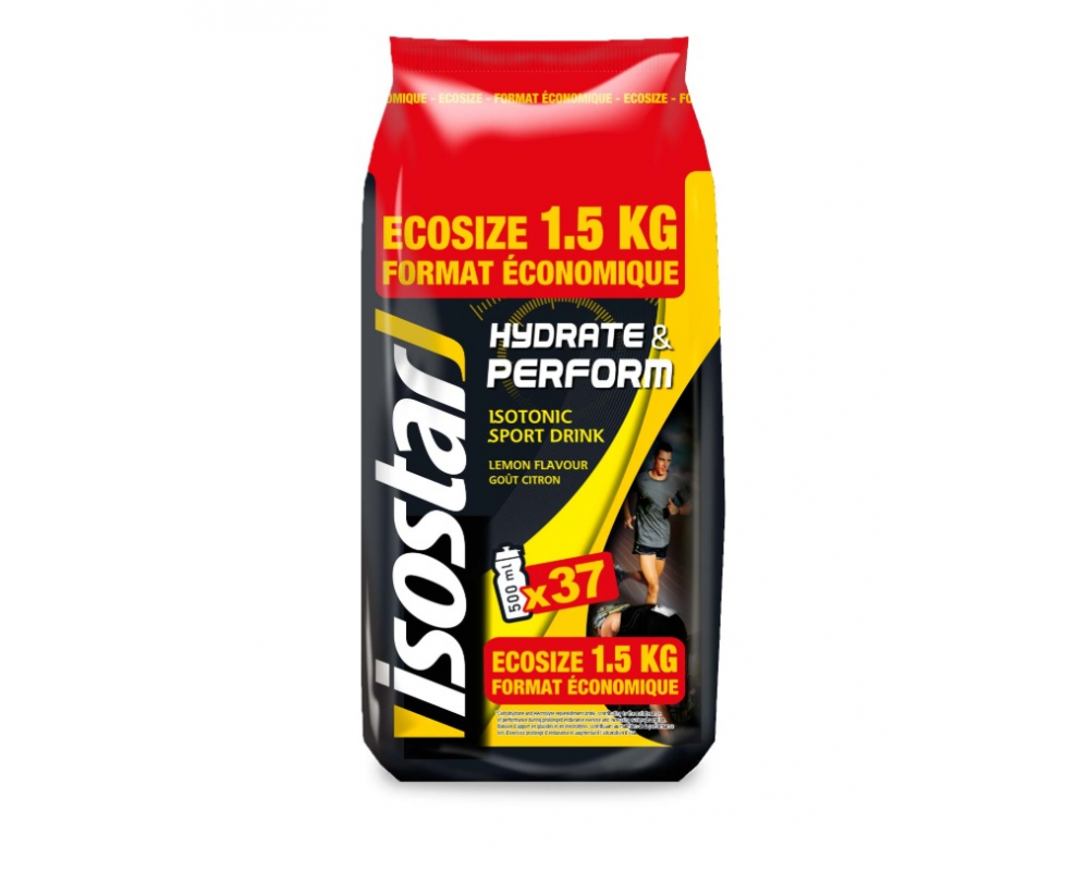 ISOSTAR Hydrate Perform Ecosize 1,5 kg citron