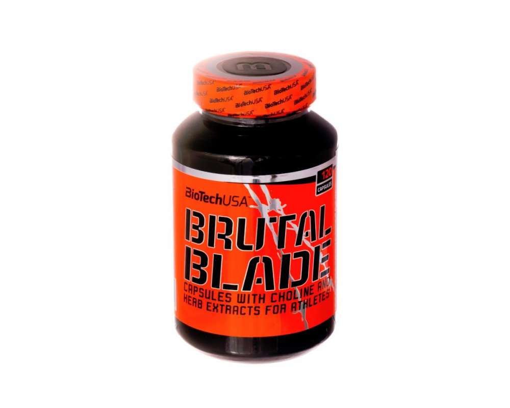 BIOTECH USA Brutal Blade 120 kapslí