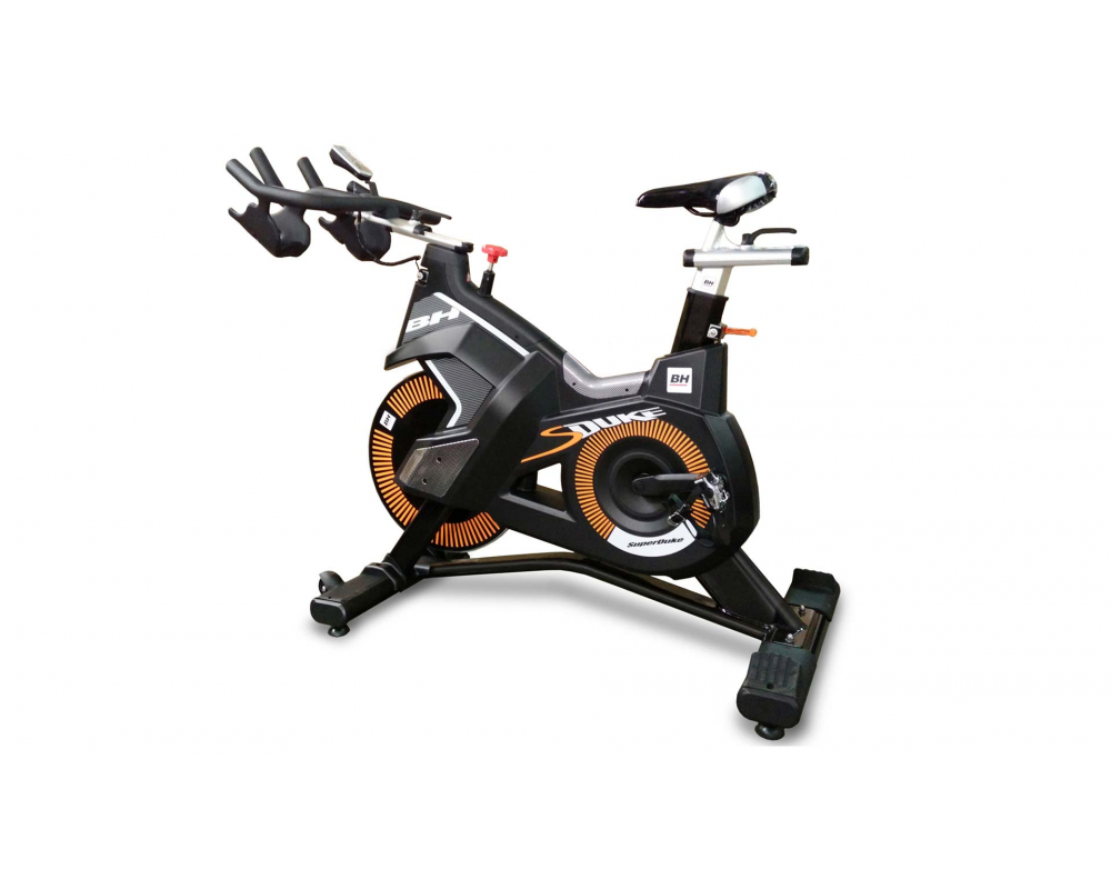 Cyklotrenažér BH Fitness SUPER DUKE - pohled