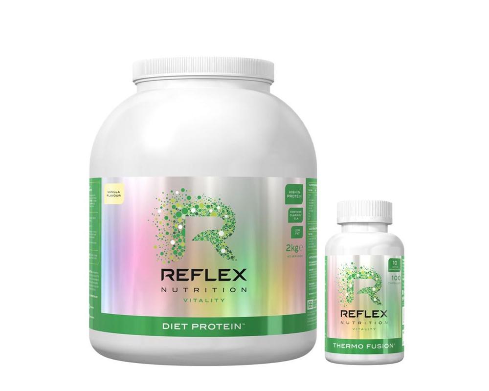 REFLEX Diet Protein 2 kg + spalovač Thermo Fusion ZDARMA!