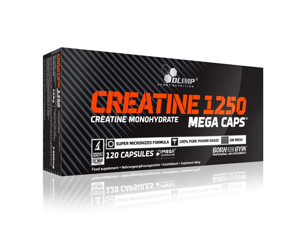 OLIMP Creatine 1250 mg Mega Caps 120 kapslí