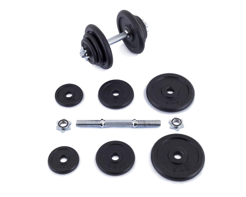 Činky jednoručky Nakládací jednoručky 20 kg_01