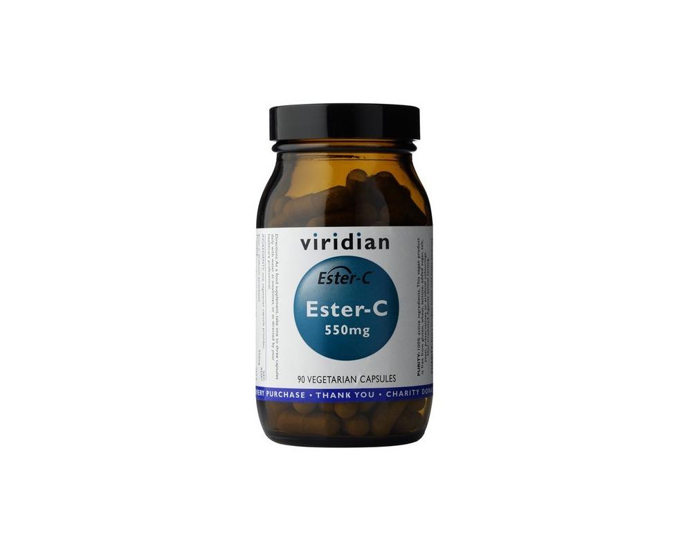 VIRIDIAN Ester-C 550 mg 90 kapslí