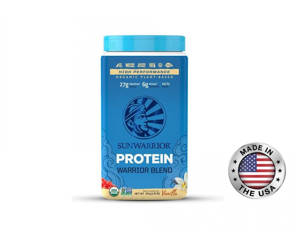 SUNWARRIOR protein 750 g - vanilka