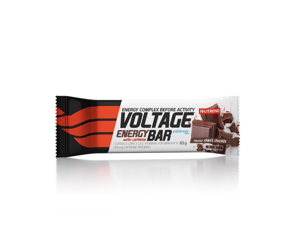NUTREND Voltage Energy bar s kofeinem 65 g