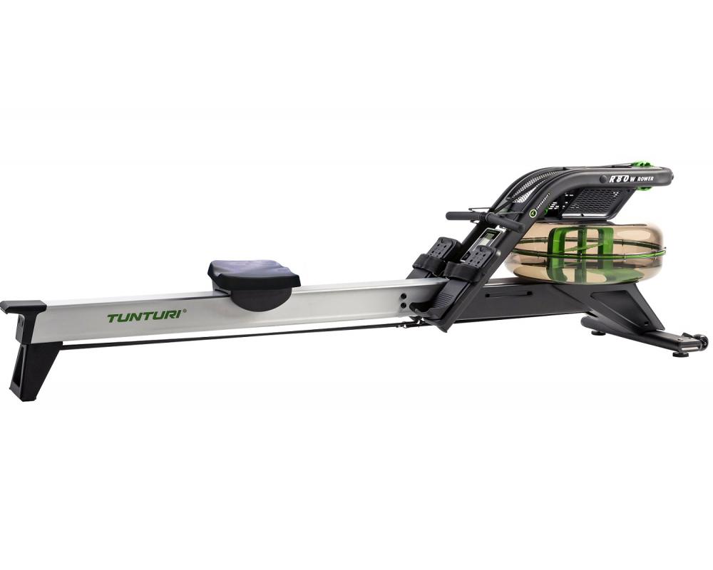 Veslovací trenažér Tunturi R80W Rower Single Rail Endurance