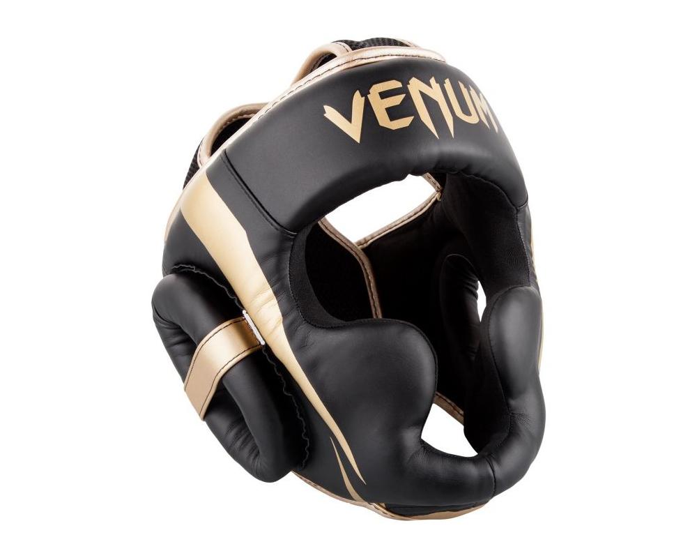 Chránič hlavy Elite černý zlatý VENUM