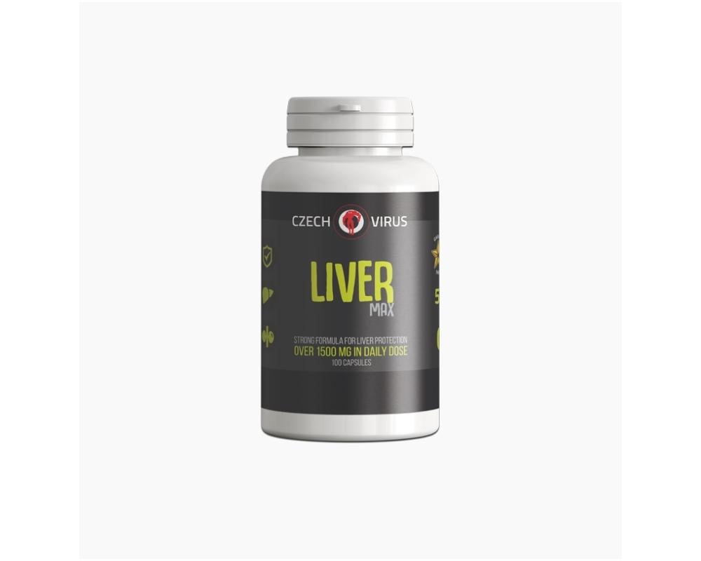 CZECH VIRUS Liver MAX 100 kapslí