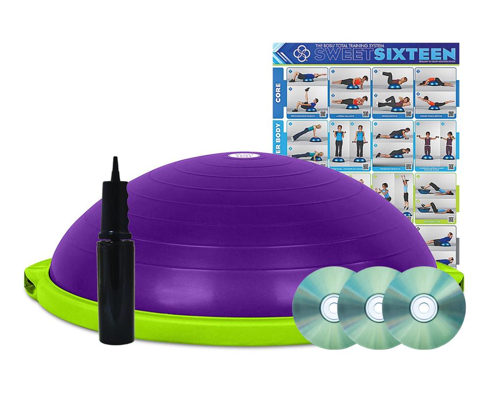 BOSU balance trainer Build your own - fialová_zelená