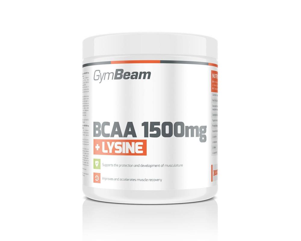 GymBeam BCAA 1500 mg + Lysine 300 tablet