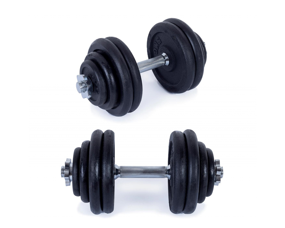 Činky jednoručky TrinFit jednorucka 30 kg set_05