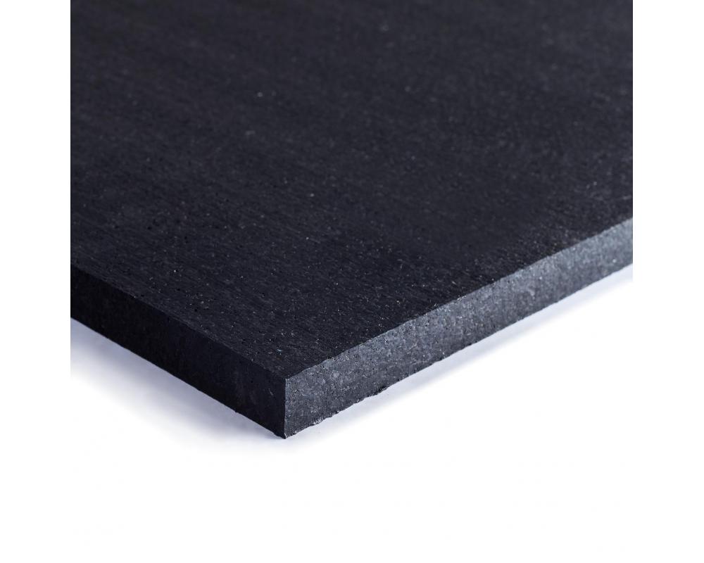 Sportovní gumová podlaha do fitness PROFI CF 20 mm černá 02