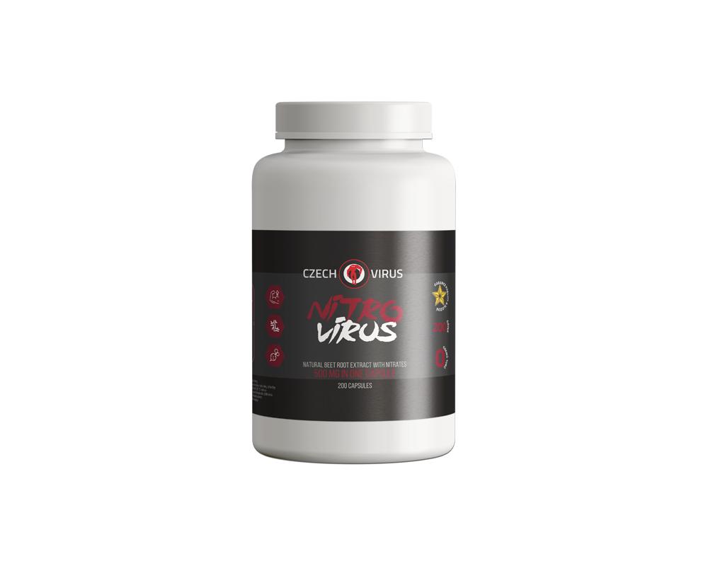 CZECH VIRUS Nitro Virus 200 kapslí