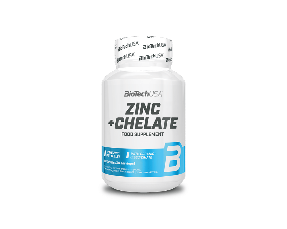 BIOTECH USA Zinc+ Chelate 60 tablet