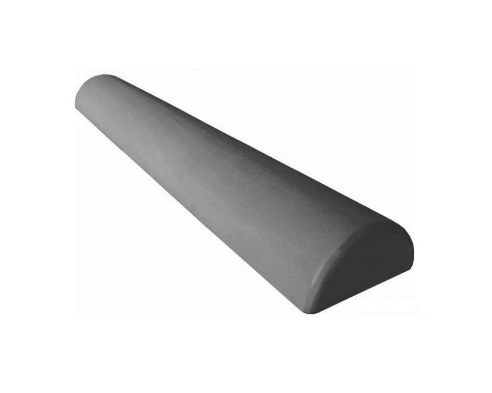 Foam ROLLER půlválec šedý