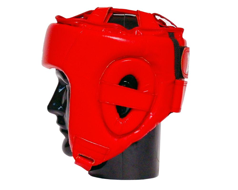 Boxerská přilba Standart BAIL červená strana