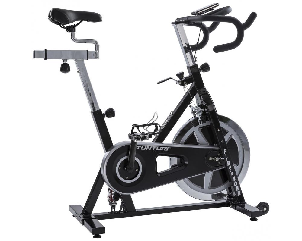 Cyklotrenažér Cyklotrenažér Tunturi FitRace 40 HR profil