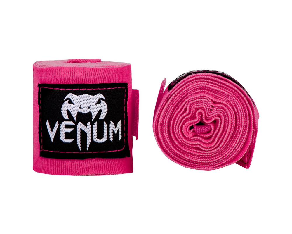 Boxerské bandáže Kontact 2,5 m Pink VENUM