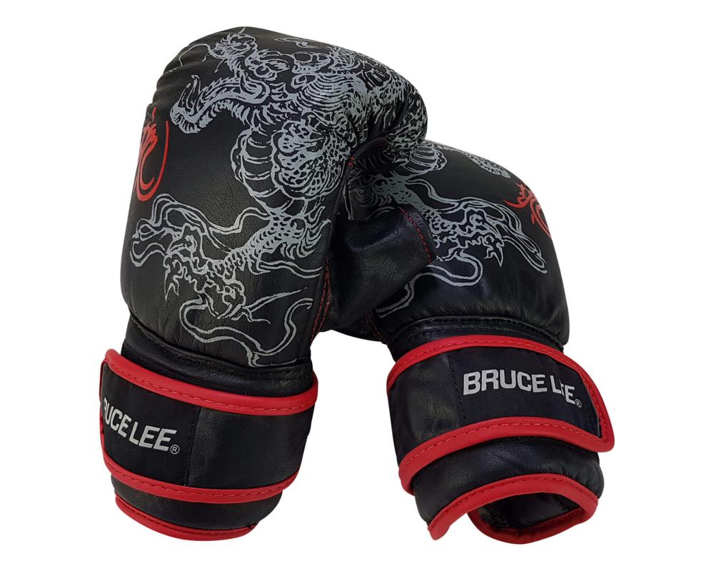 Boxerské rukavice na pytel nebo sparring BRUCE LEE Deluxe