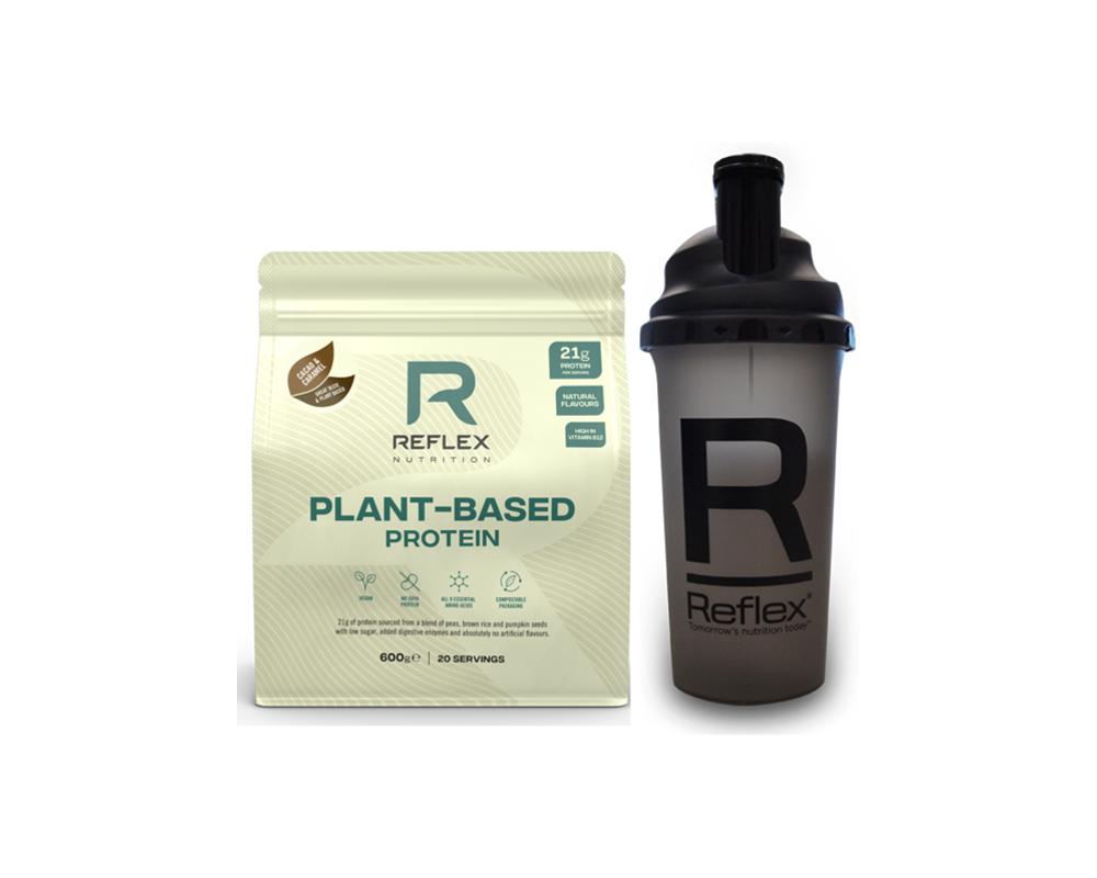 REFLEX Plant Based Protein 600 g + shaker zdarma