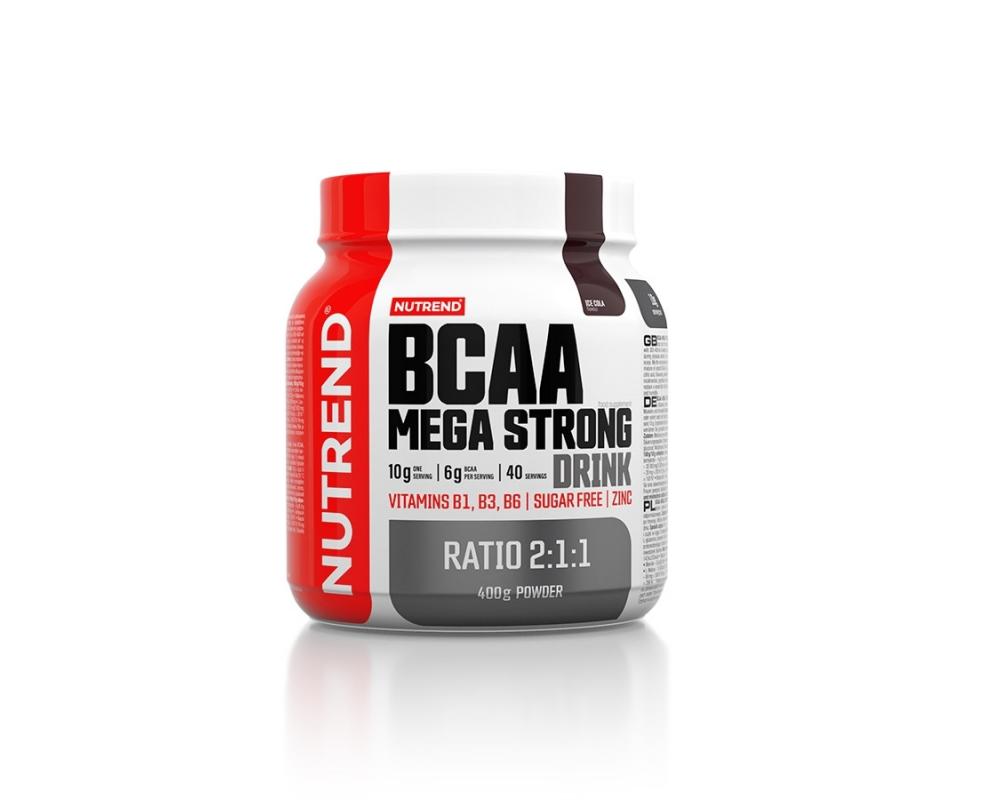NUTREND BCAA Mega Strong Drink 400 g cola