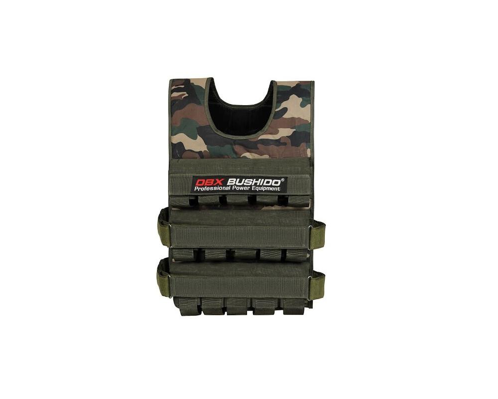 Zátěžová vesta DBX BUSHIDO DBX-W6C 1-30 kg
