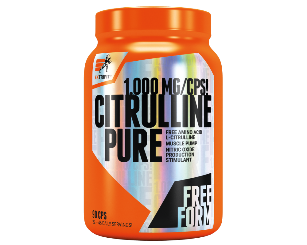 EXTRIFIT Citrulline Pure 1000 g 90 kapslí