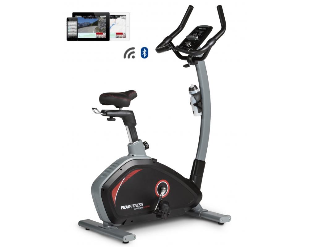 Rotoped Flow Fitness DHT2000i z profilu + app