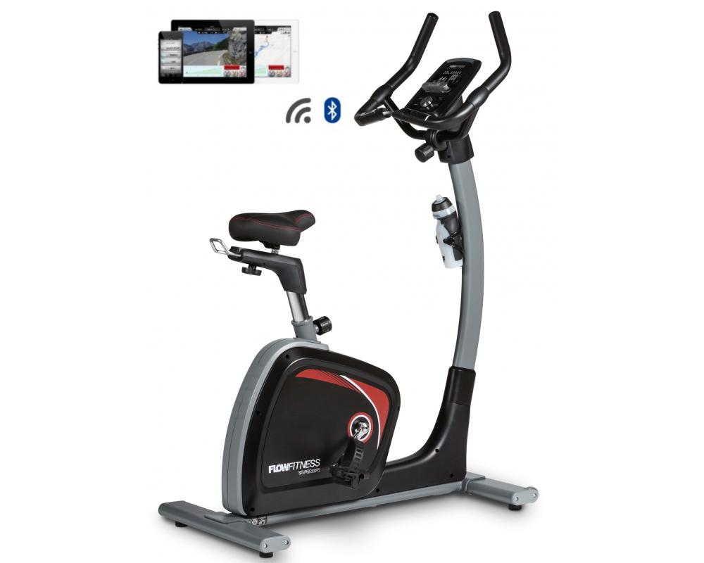 Rotoped Flow Fitness DHT2500i z profilu + app