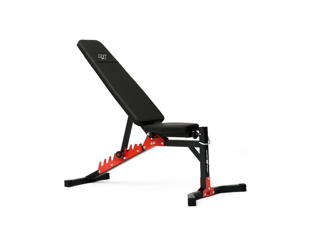 Posilovací lavice na břicho MARBO MH-L115 2.0 Celkový pohled