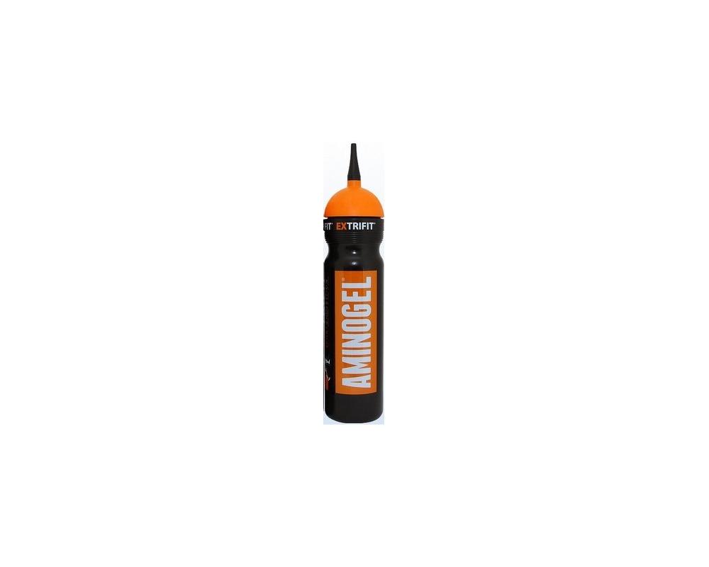 EXTRIFIT Sportovní láhev Bidon 1000 ml černo-oranžová s hubicí