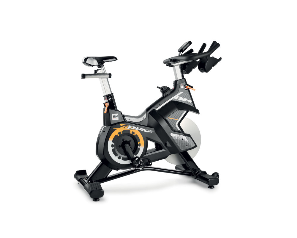 Cyklotrenažér BH Fitness Super Duke Magnetic z profilu