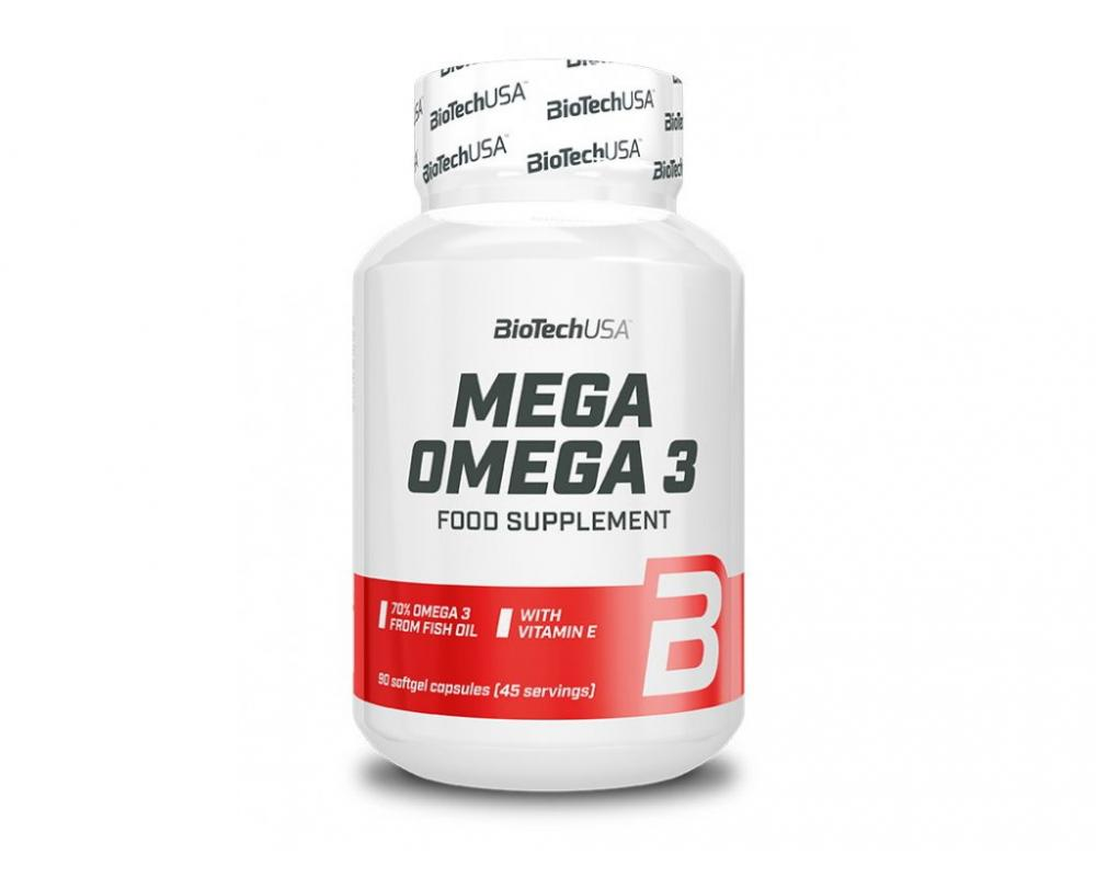 BIOTECH USA Omega 3 - 90 kapsúl