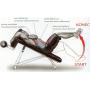 Posilovací lavice na břicho Lavice břicho - polohovací