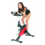 Jízda na cyklotrenažéru Finnlo Speedbike CRT