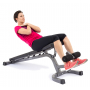 Posilovací lavice na bench press TRINFIT Vario LX6 cvik 01g